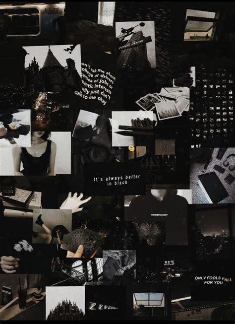 82 iphone wallpaper black aesthetic collage wallpaper