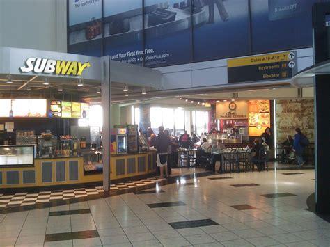 Newark Airport Terminal A Food Court 11192010 Newark