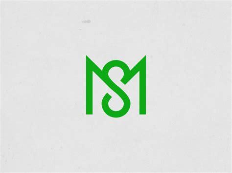 ms initials logo monogram design logos design