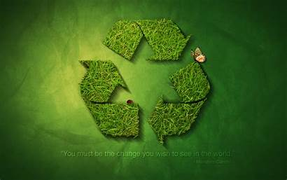 Earth Recycle Background Powerpoint Wallpapers Backgrounds Creative