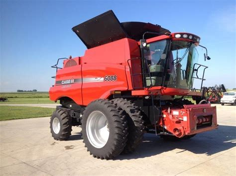 2009 case ih 6088 combine nevada iowa machinery pete