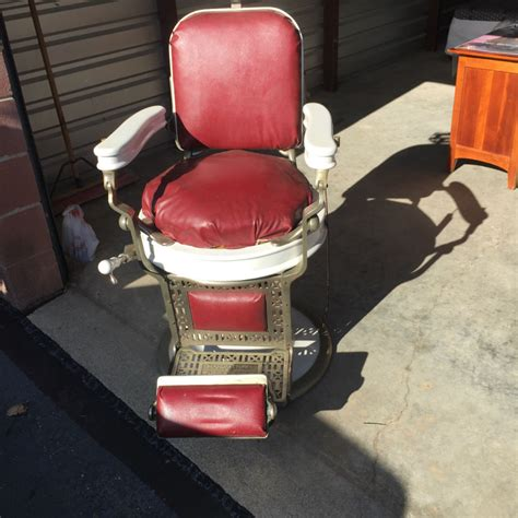 1920 s theo a kochs barber chair