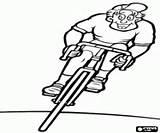 Ciclista Colorear Carrera Ausmalbilder Coloring Cyclist Race Extremos Aventura Deportes Ruta Corse Wyścigu Kolarz Malvorlagen Radfahrer Extreme Adventure Przygoda Ekstremalne sketch template