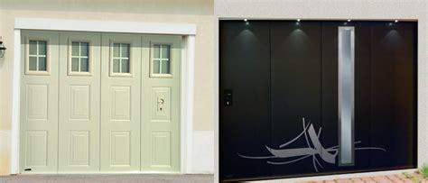portes de garage sectionnelle lat 233 rale ouvertures