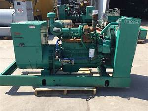 U201380 Kw Cummins  Onan Generator  12 Lead Reconnectable  480 Volts  Skid Mounted