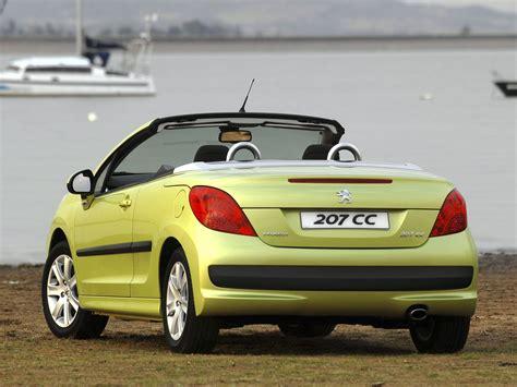 peugeot car one peugeot 207 cc specs 2007 2008 2009 autoevolution