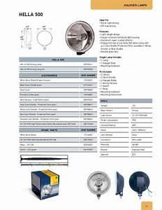 2012 Hella Accessories Catalog Working Light Fog Light