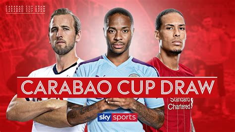 Carabao Cup draw live on Sky Sports: Watch first-round ...