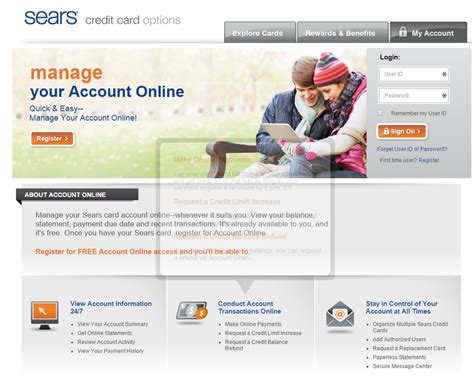 sears credit card pay by phone citibank sears card www searscard login informerbox