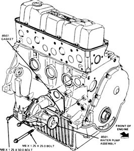 2000 Ford Tauru Waterpump Diagram by Solved How Many Holes Should A 91 Tempo Water Pulley