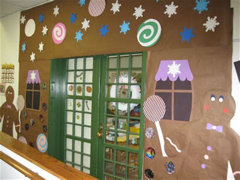 christmas decoration ideas in classroom door decorations for classrooms and creative but simple winter themed bulletin board