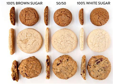 brown cookie sugar baking cookies between sugars recipe science differences dark ingredients substitute granulated light ingredient different recipes types chocolate