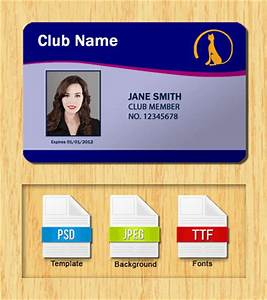 membership id templates free download With avery membership card template
