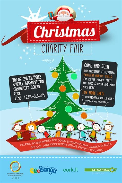 christmas charity poster festival collections