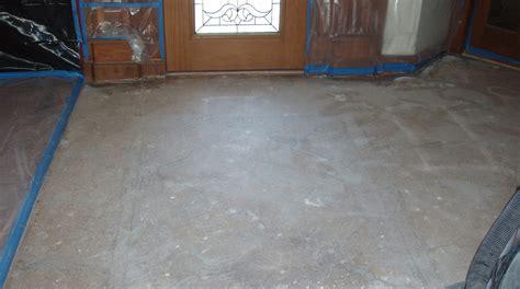 how to level a concrete floor for tile ceramic tile installation on concrete floors