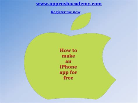 27942 how to make an app for iphone 044405 how to make an iphone app for free