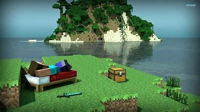 Minecraft Wallpapers Mobile Desktop Pc Pixelstalk Island