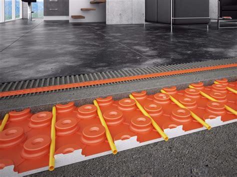 riscaldamento a pavimento spessore riscaldamento a pavimento a basso spessore schl 252 ter