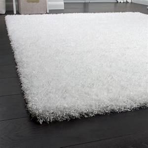 Hochflor Teppich Weiß : langflor shaggy wei ~ Watch28wear.com Haus und Dekorationen