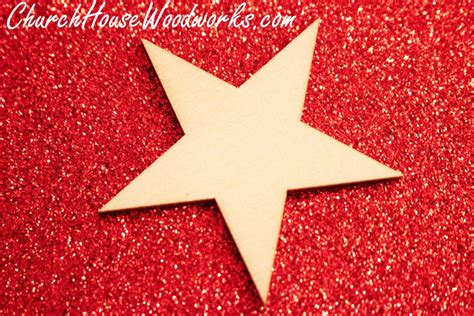 wooden star christmas ornaments set    sale