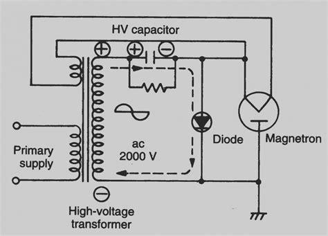 washing machine motor capacitor wiring diagram
