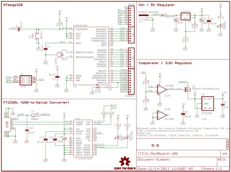 how to read a schematic learn sparkfun com