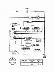 Craftsman Lawn Tractor Wiring Diagram
