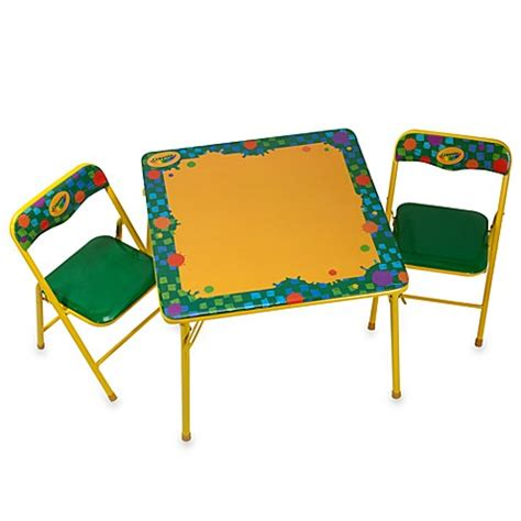 activity table and chairs crayola erasable activity table and chair set bed bath