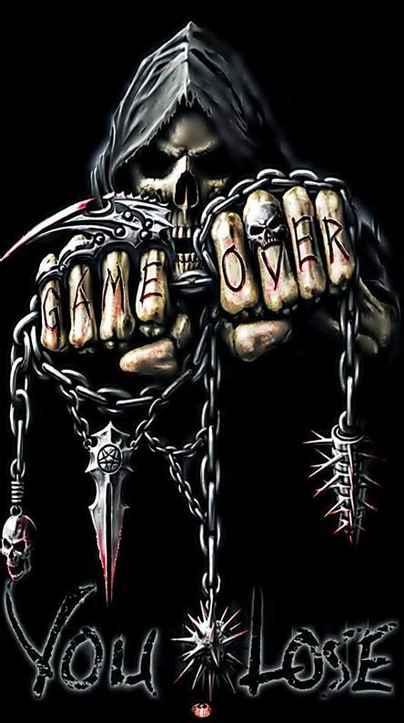 Black Skulls 3d Wallpapers by Skull Wallpapers Free By Zedge