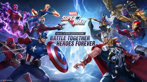 marvel super war brings moba action  android  ios