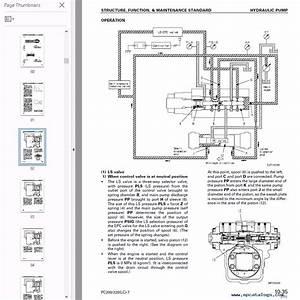 Komatsu Hydraulic Excavator Pc200