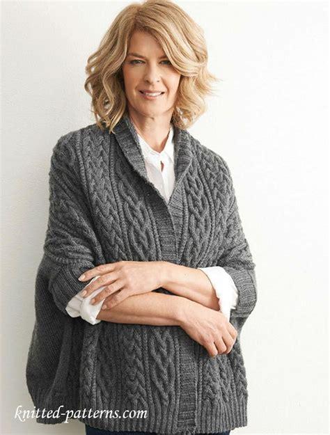 kimono jacket knitting pattern