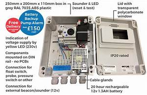 High Level Pump Alarm With Battery Backup