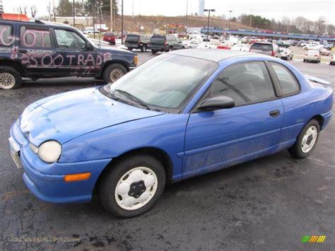 1996 Dodge Neon Coupe In Brilliant Blue 557623 Jax