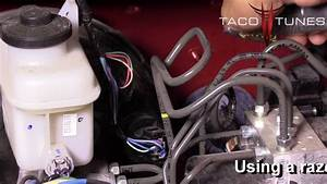 Toyota Tundra Install Power Wire From Battery To Plug And