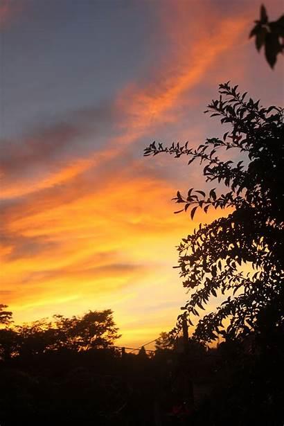 Senja Langit Backgrounds Tangerang Quotes Scenery Pemandangan