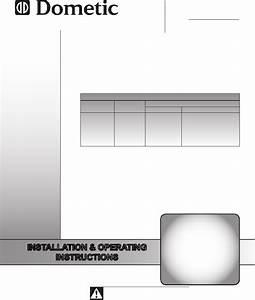 Dometic 457915 Air Conditioner Installation  U0026 Operating