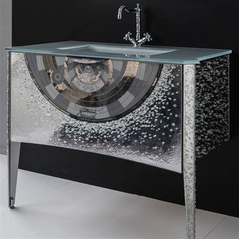 crystal bathroom vanity platinum