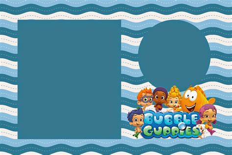 The Gallery For Bubble Guppies Invitations Templates Free