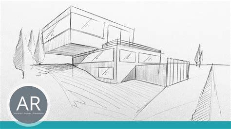Haus Skizze Einfach by Architekturskizzen Einfach Und 252 Berall Mit Dem Kulli
