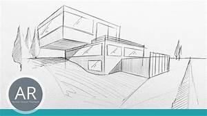 Haus Strichzeichnung Einfach : architekturskizzen einfach und berall mit dem kulli anfertigen mappenvorbereitungskurs ~ Watch28wear.com Haus und Dekorationen
