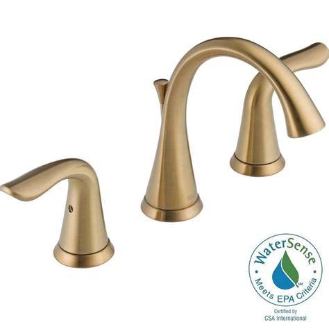 delta lahara 8 in widespread 2 handle bathroom faucet