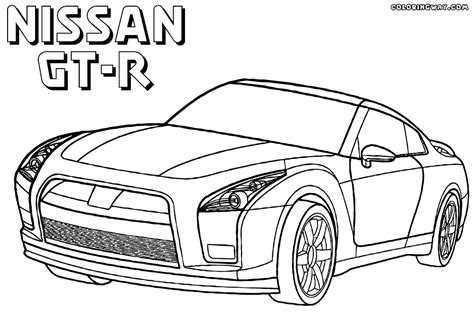 nissan coloring pages coloring pages    print