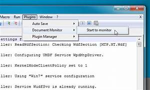 Auto refresh all opened notepad documents to view for Download document monitor plugin notepad