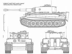 Tiger Tank Schematic