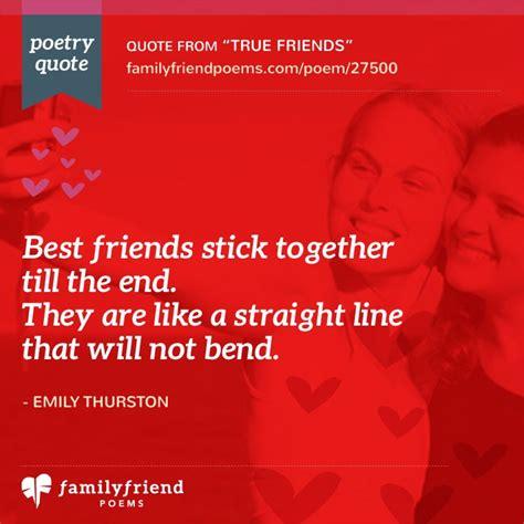 true friends short friendship poem