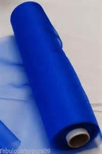 Noeud Chaise Mariage by 25m Transparent Organza Rouleau De Tissu Pour Mariage