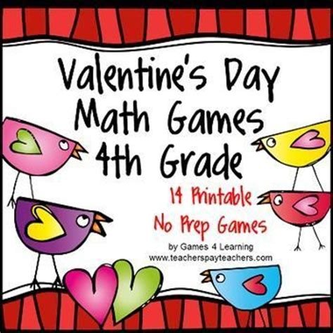 valentine s day activities valentine s day math games fourth grade valentines kid and the o jays