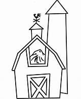Barn Pages Coloring Pre Printable Easy Farm Clipart Colouring Drawing Cartoon Sheets Sheet Clip Animal Animals Colors Barns Honkingdonkey Preschool sketch template