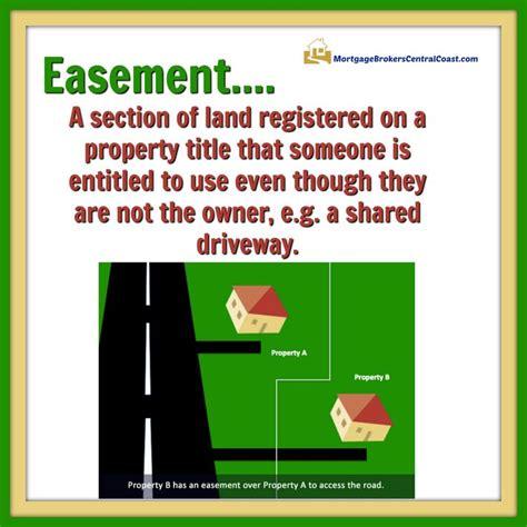 easement  section  land registered   property